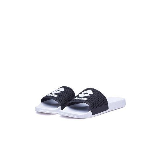 Lotto Badeschlappen Moku Slide all white/all black