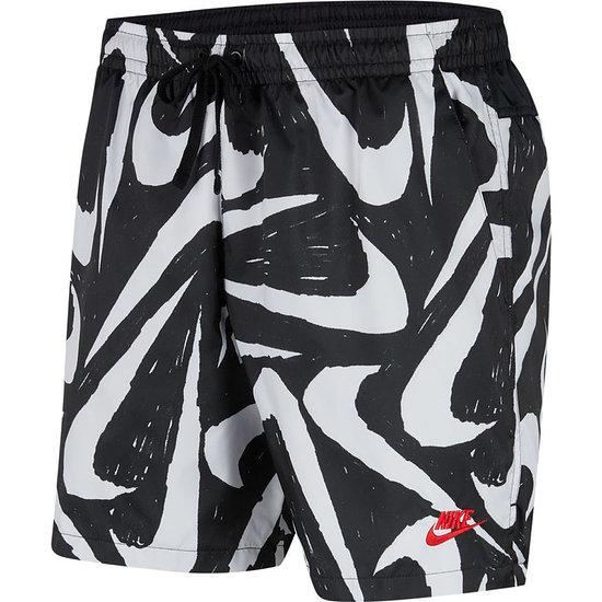 Nike Freizeit- und Badeshorts SWOOSH Schwarz