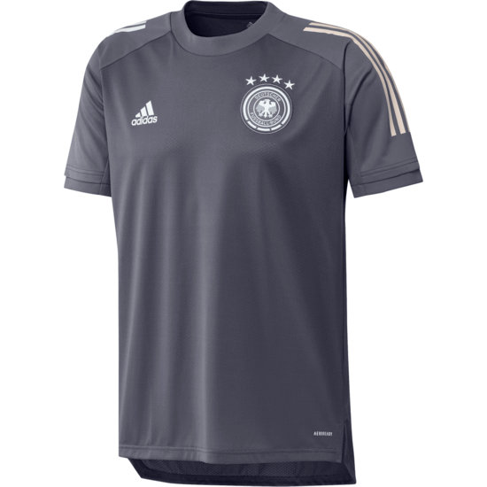 Adidas Deutschland DFB Training-Shirt EM 2021 Dunkelgrau
