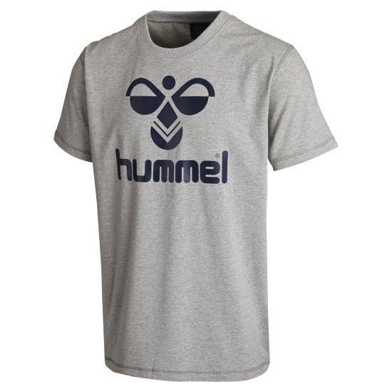 hummel T-Shirt Classic Bee grau/blau
