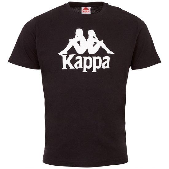 Kappa T-Shirt CASPAR Schwarz/Weiß
