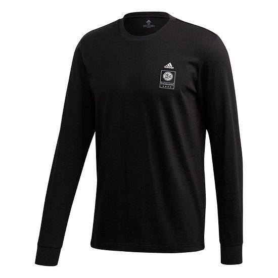 Adidas Deutschland DFB Langarm-T-Shirt EM 2021 Schwarz