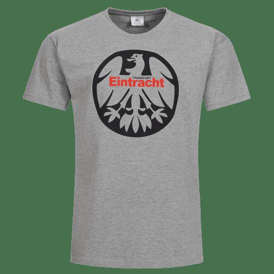 Eintracht Frankfurt T-Shirt 1980 Fankurve hellgrau