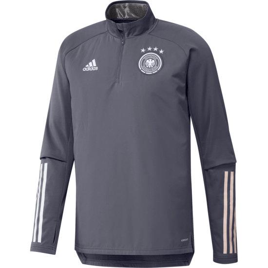 Adidas Deutschland DFB Trainingstop Warm EM 2021 Dunkelgrau