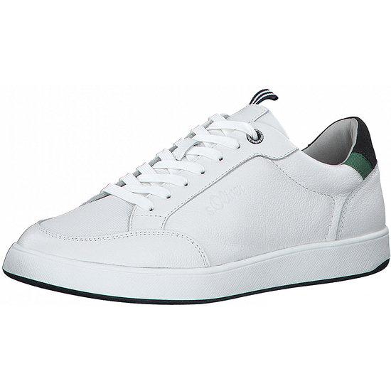 S. Oliver Sneaker Leder white