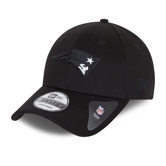 New Era New England Patriots Cap Black Base 9FORTY schwarz