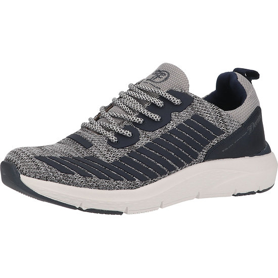 Tom Tailor Sneaker Lederimitat/Textil grey