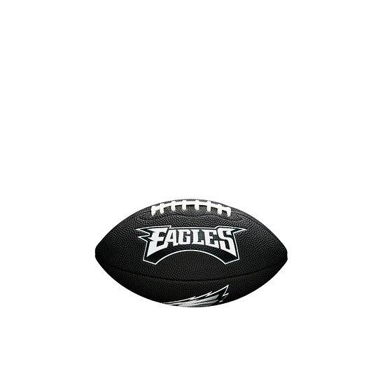 Wilson Philadelphia Eagles Football Mini Team Logo schwarz