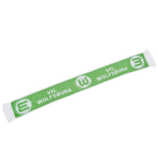 VfL Wolfsburg Logo Schal Grün