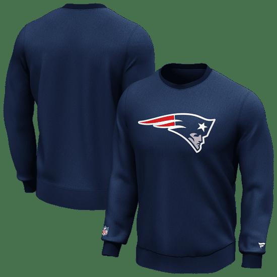 Fanatics New England Patriots Sweatshirt Logo Graphic navy