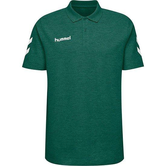 hummel Poloshirt Go Cotton grün