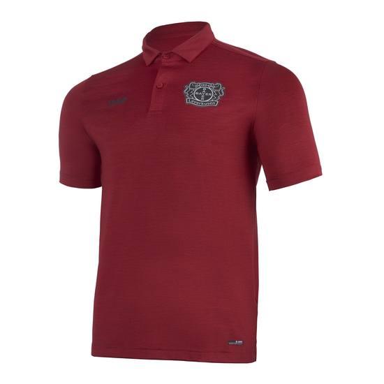 Jako Bayer 04 Leverkusen Poloshirt Premium 20/21 rot