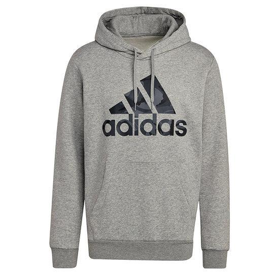 Adidas Hoodie M Camo Grau