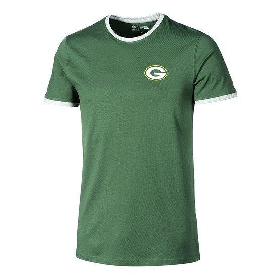 New Era Green Bay Packers T-Shirt Ringer grün
