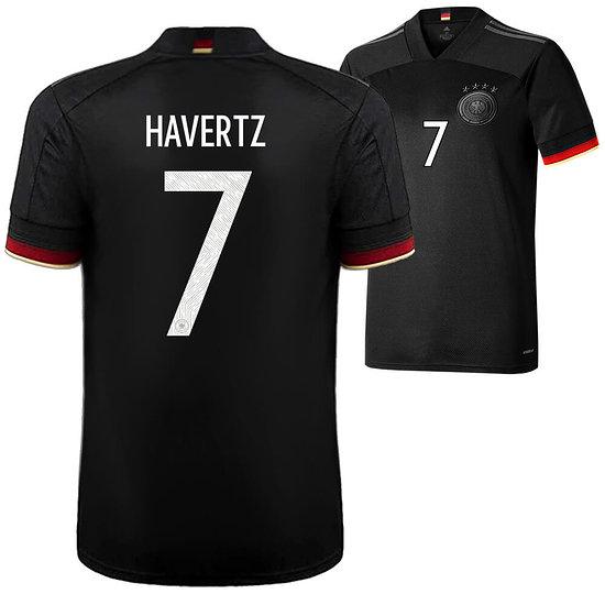 Adidas Deutschland EM 2021 DFB Trikot Auswärts HAVERTZ Kinder