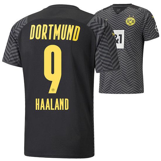 Puma Borussia Dortmund Auswärts Trikot HAALAND 2021/2022 Kinder