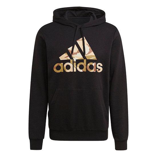 Adidas Hoodie CAMO 3S Schwarz