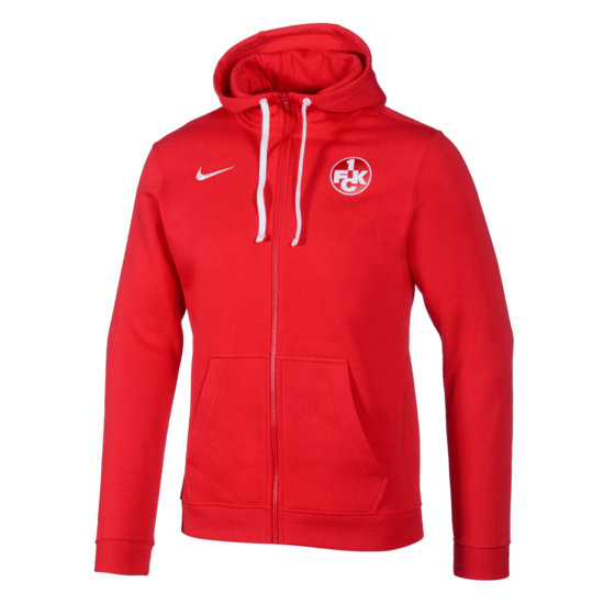 Nike 1. FC Kaiserslautern Kapuzenjacke rot
