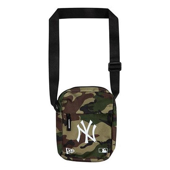 New Era New York Yankees Tasche Side Bag grün
