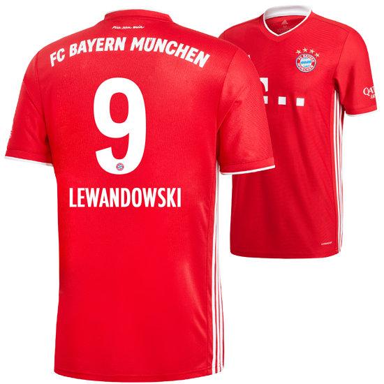 Adidas FC Bayern München Heim Trikot 2020/2021 LEWANDOWSKI