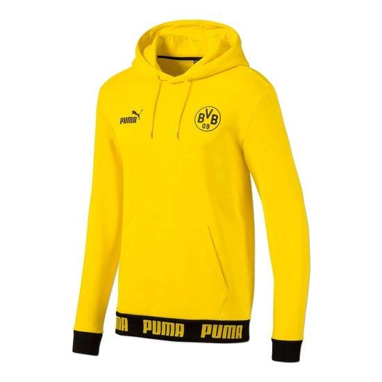 Puma Borussia Dortmund Hoodie Culture Gelb