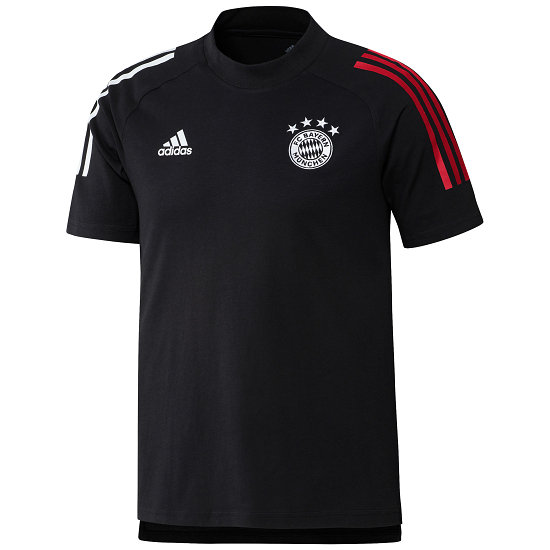 Adidas FC Bayern München T-Shirt CL 2020/2021 Schwarz