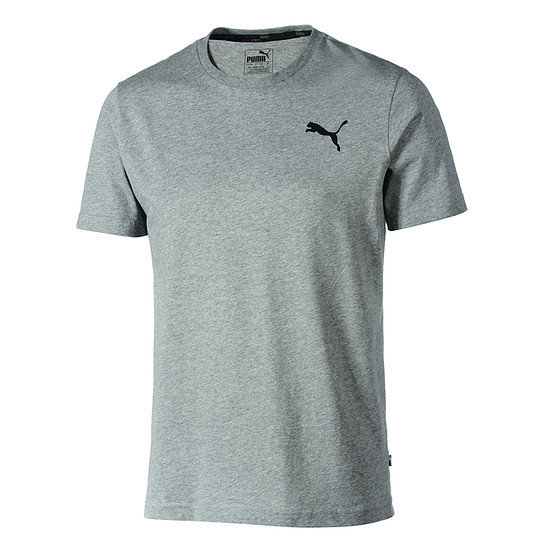 Puma T-Shirt ESS Small Logo grau