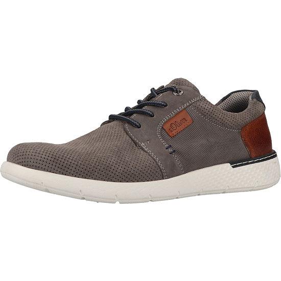 S. Oliver Sneaker Leder grey