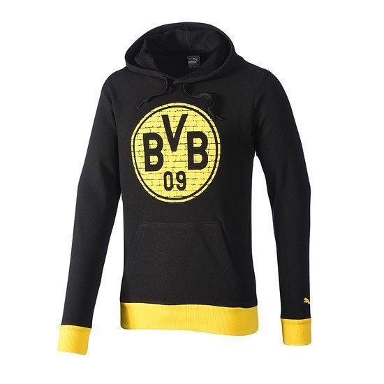 Puma Borussia Dortmund Hoodie Logo BVB Schwarz