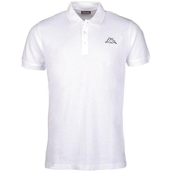 Kappa Poloshirt PELEOT weiß