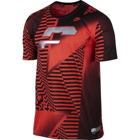 Nike T-Shirt Sportswear Rot/Schwarz