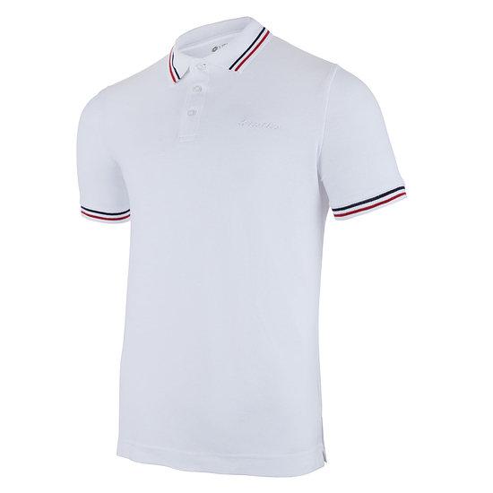 Lotto Poloshirt Classica brilliant white/red