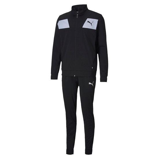 Puma Freizeit- und Trainings- Anzug TECHSTRIPE Schwarz