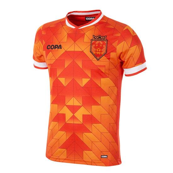 Copa Fußballshirt Niederlande orange