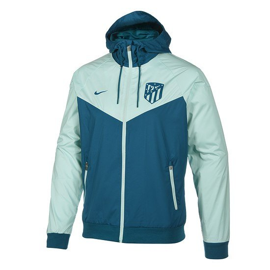 Nike Atletico Madrid Windrunner Colourblock Blau/Grün