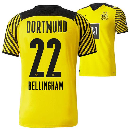 Puma Borussia Dortmund Heim Trikot BELLINGHAM 2021/2022 Kinder