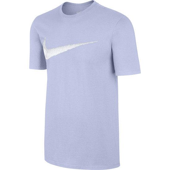 Nike Swoosh T-Shirt Purple/Weiß