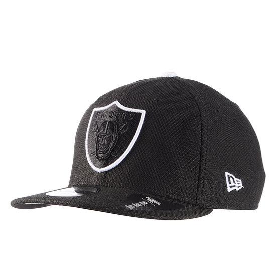 New Era Las Vegas Raiders Cap Team Outline 9FIFTY schwarz