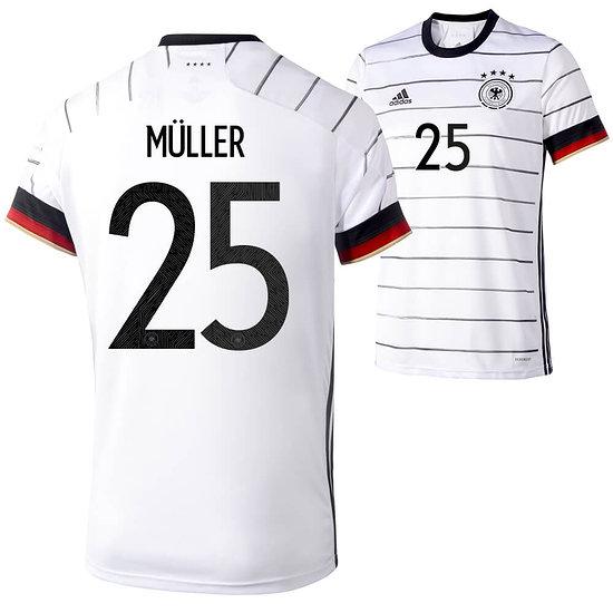 Adidas Deutschland EM 2021 DFB Trikot MÜLLER Heim Kinder