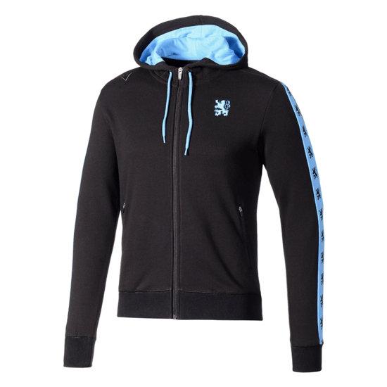 Macron TSV 1860 München Kapuzenjacke Fanline schwarz/blau