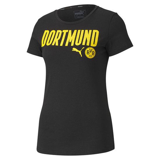 Puma Borussia Dortmund T-Shirt DORTMUND 2020/2021 Damen Schwarz