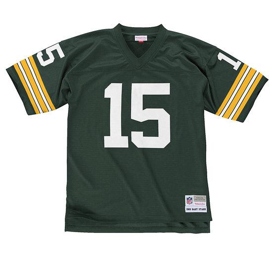 Mitchell & Ness Green Bay Packers Legacy Jersey Bart Starr dunkelgrün