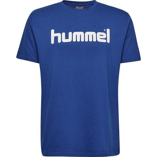hummel T-Shirt Go Cotton Logo blau
