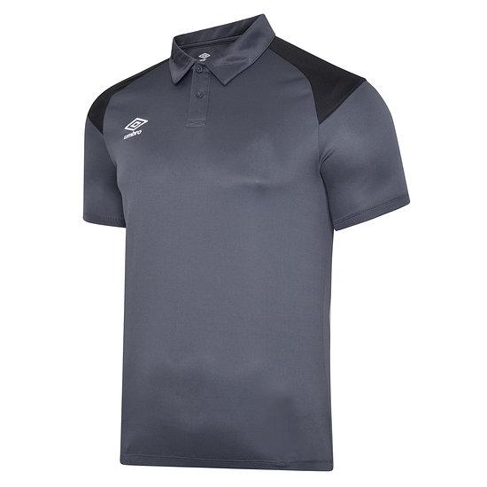 Umbro Poloshirt Poly S20 Schwarz