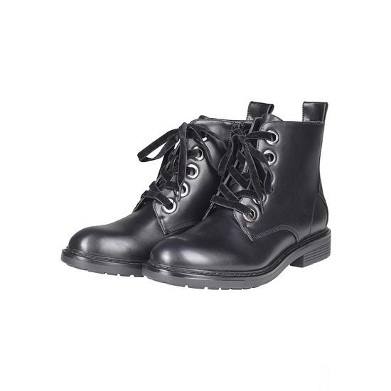 URBAN CLASSICS Boot Velvet Lace schwarz