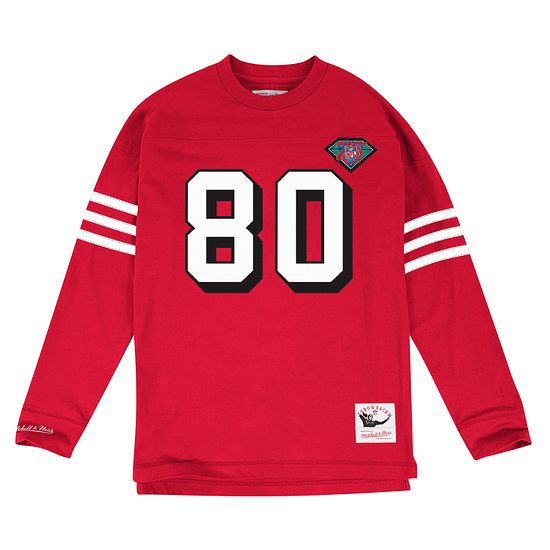 Mitchell & Ness San Francisco 49ers Longsleeve N&N Jerry Rice rot