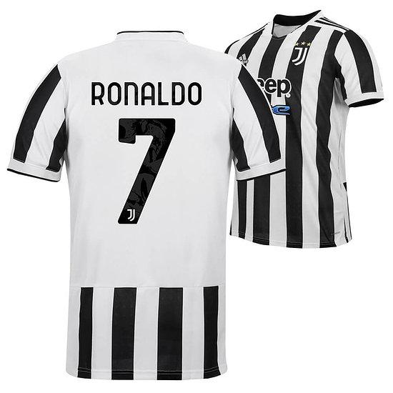 Adidas Juventus Turin Trikot RONALDO 2021/2022 Heim Kinder