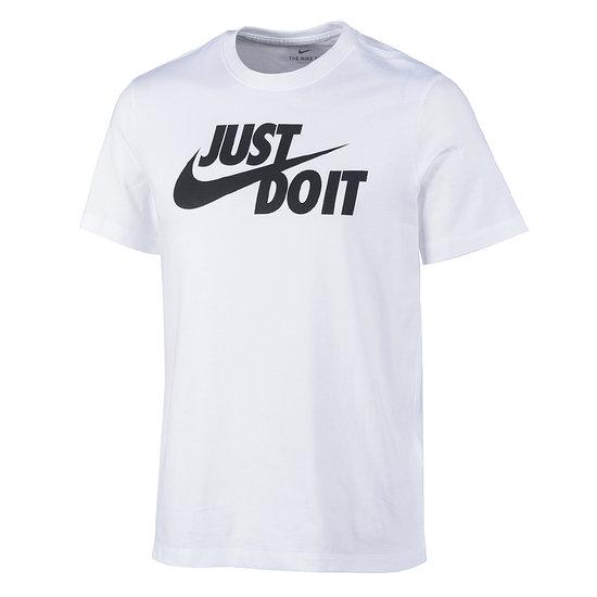 Nike T-Shirt Swoosh JUST DO IT Weiß
