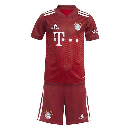 Adidas FC Bayern München Trikot 2021/2022 Heim Mini Kit
