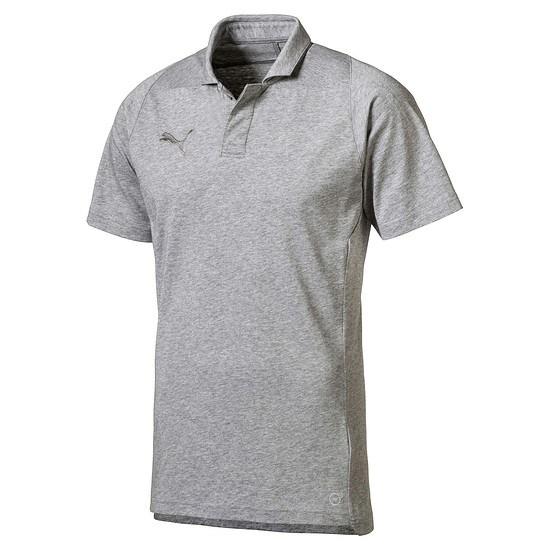 Puma Polo Shirt Casuals FINAL Grau